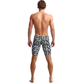 Funky Trunks Eco Training Jammer-uimahousut Miehet, pandaddy